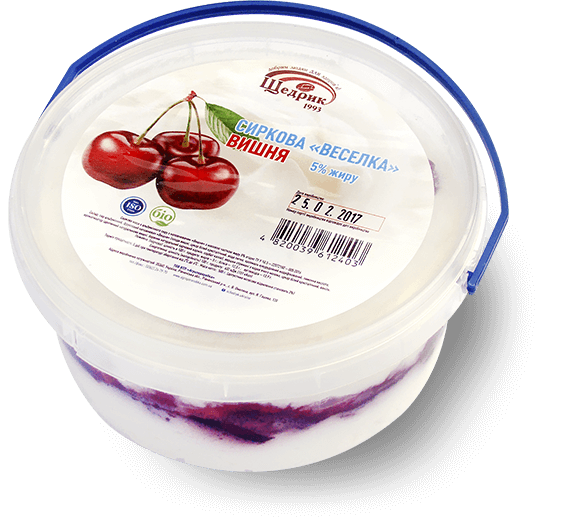 Cheese «Rainbow» 5% Cherry