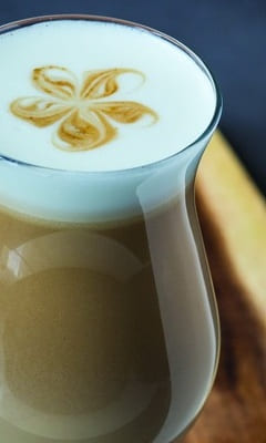 Ginger latte