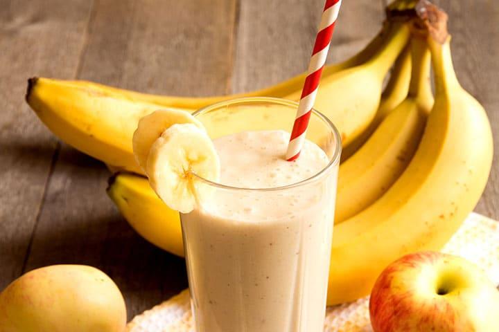 Как сделать смузи банан молоко 287