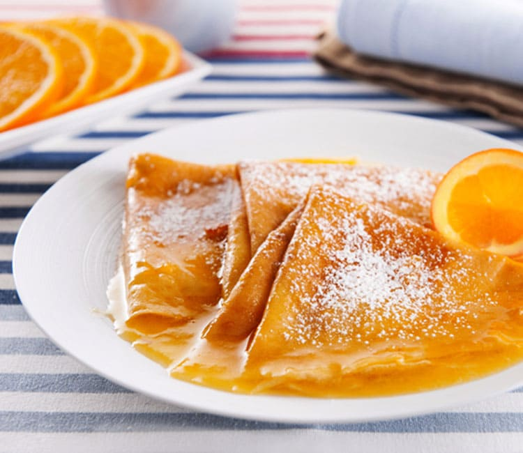 "French pancakes ""Suzette"" from Galina Tkach"