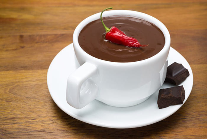 Hot chocolate «Peppercorn»