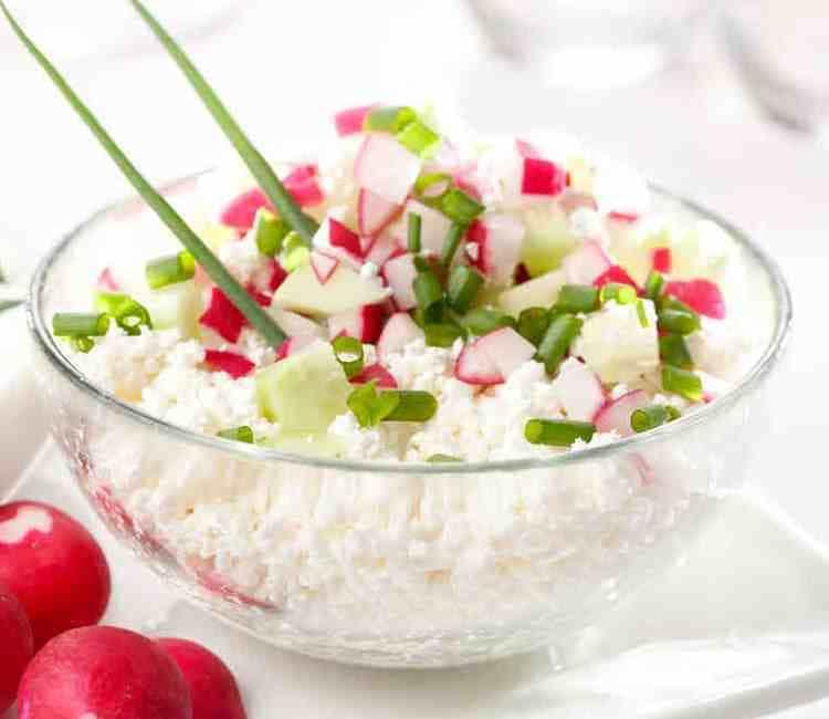 Салат з альбумінним сиром «Надуги» та редисом. Твій ідеальний рецепт.