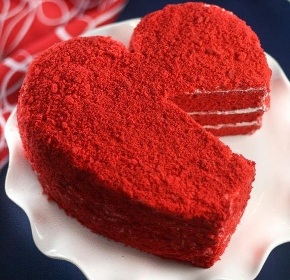 Cake «The heart for the sweetheart»