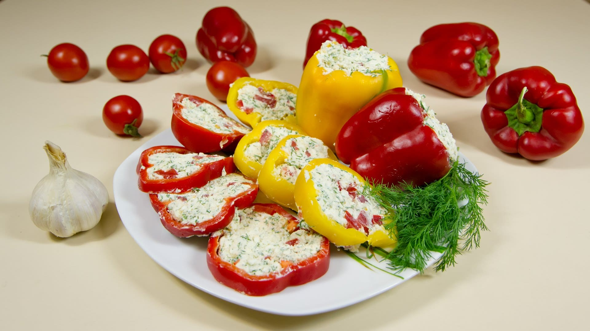 Fast stuffed peppers