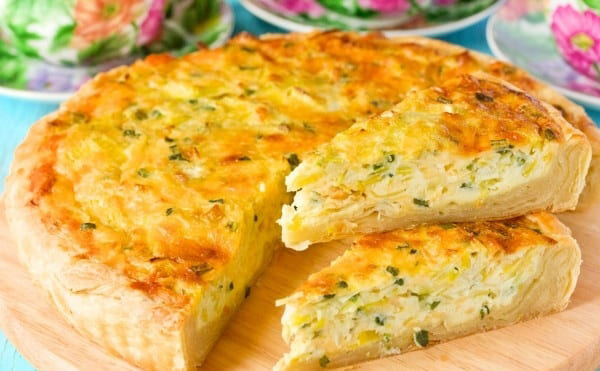 Сheese salty cheese pie