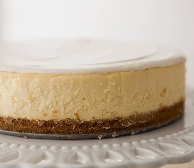 No bake cheescake (recipe by Development Manager Mariya Rudomska)